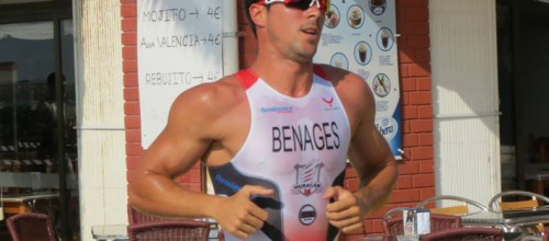 Víctor Benages: de la natación al triatlón.